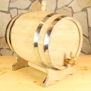 Geschenkidee Holzfass zum Befüllen