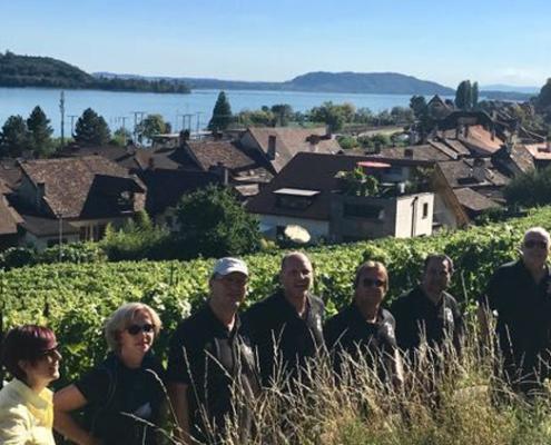 Wanderung am Bielersee, Event bei Martin Mürset in Twann