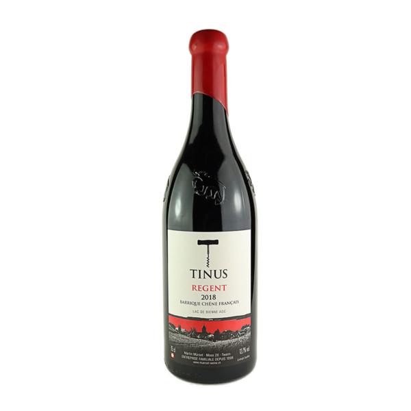 Tinus Regent im Wein-Shop