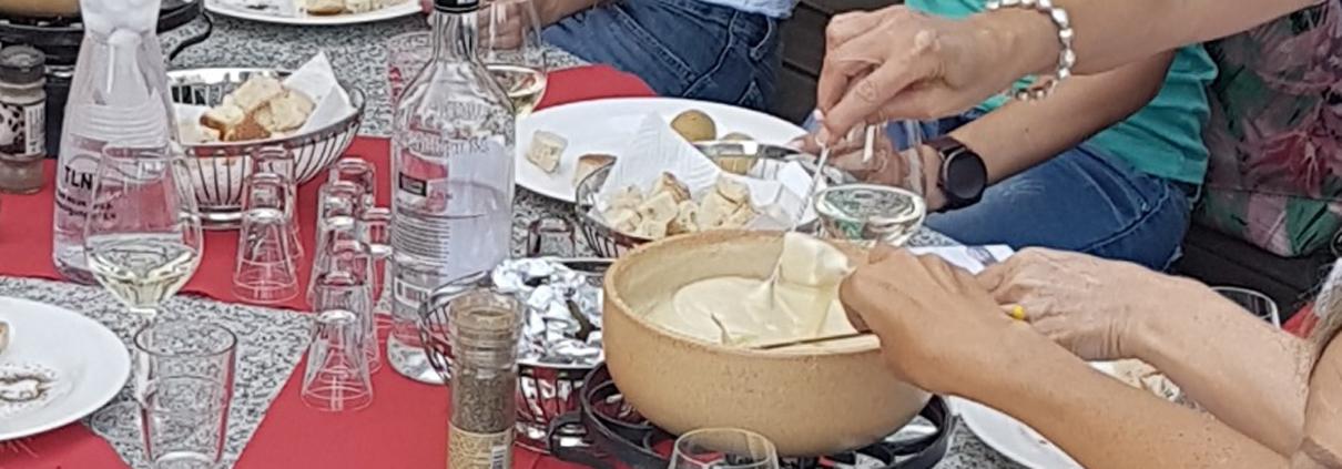 Fondue-Plausch, Raclette-Plausch in Twann am Bielersee