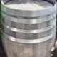 Weinfass gebraucht nach drei Jahren im Garten